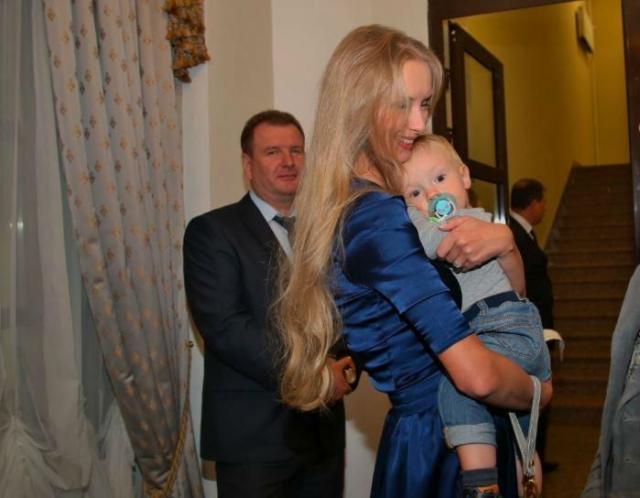 Ребенок Градского и Марины Коташенко