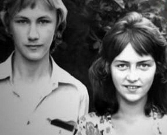 Игорь Николаев и Елена Кудряшева в юности