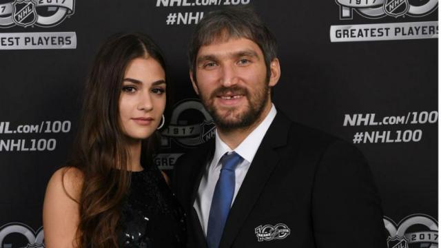 Овечкин с женой