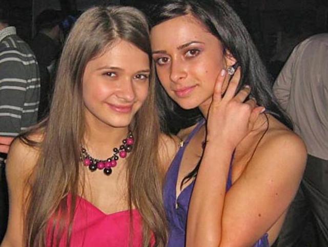 Сестра Дана Балана и Кристина Руссу