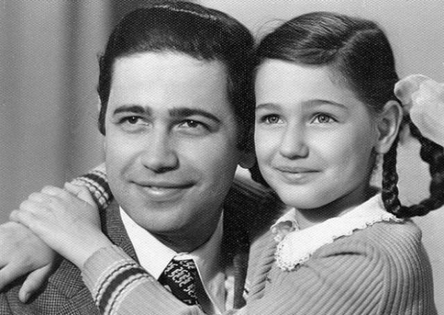 Евгений Петросян с дочкой Викториной