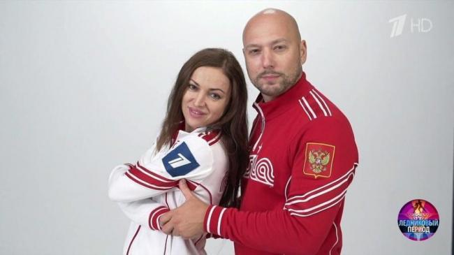 Маргарита Дробязко и ее партнер Владимир Маркони