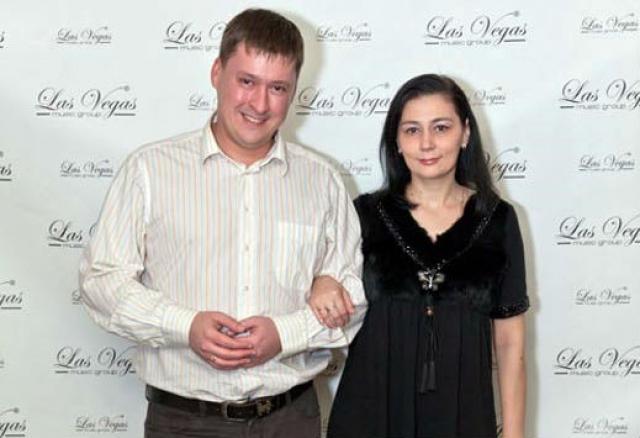 Алесь Мухин с женой