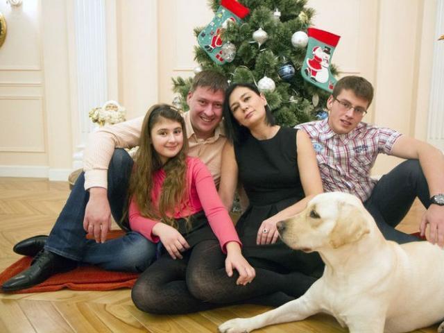 Семья Алеся Мухина