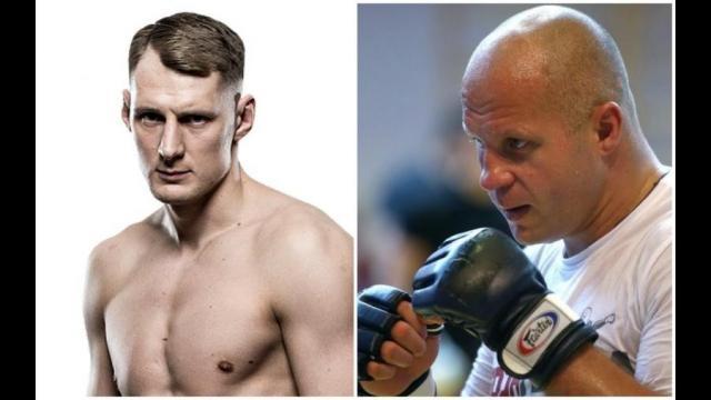 Александр Волков и Федор Емельяненко