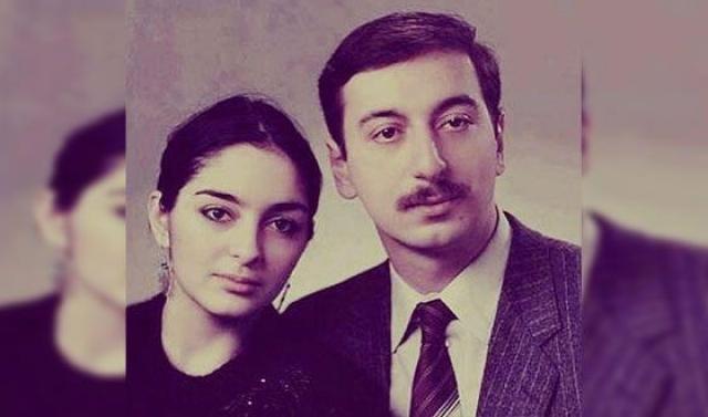 Ильхам и Мехрибан Алиевы в молодости