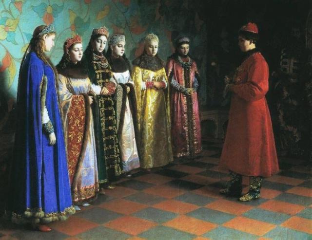 Смотр невест для царя Ивана Грозного