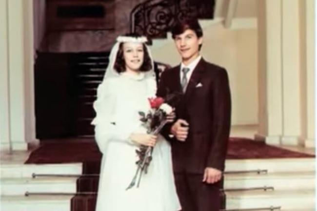 Сергей Угрюмов с женой