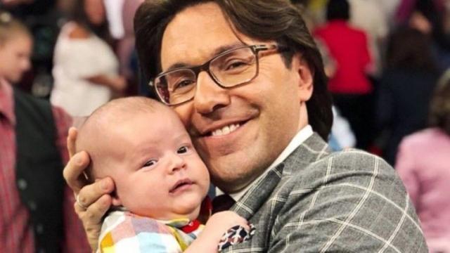 Малахов с сыном