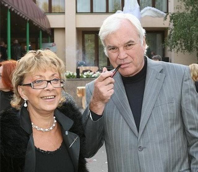 Владимир Молчанов и Консуэло Сегура