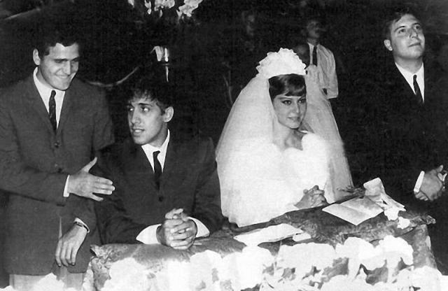 Свадьба Челентано и Мори