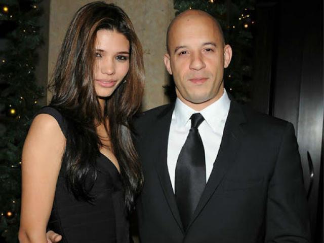Вин Дизель с женой