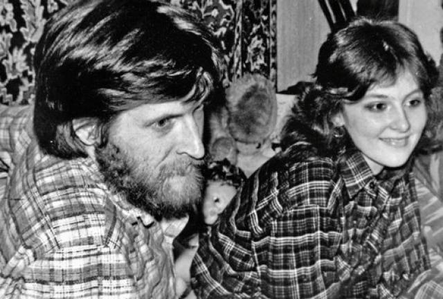 Марина Есипенко и Джигурда в молодости