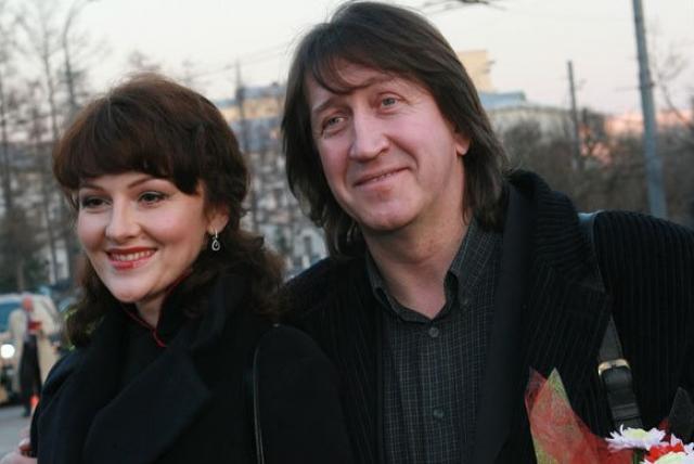Марина Есипенко с мужем