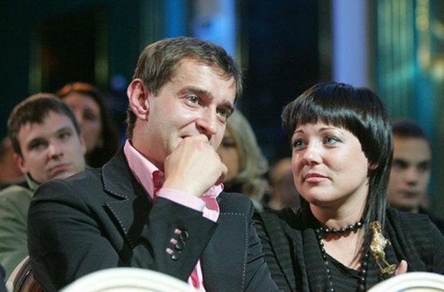 Константин Хабенский и жена Анастасия