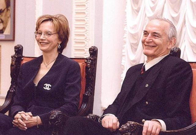 Супруги Лановые