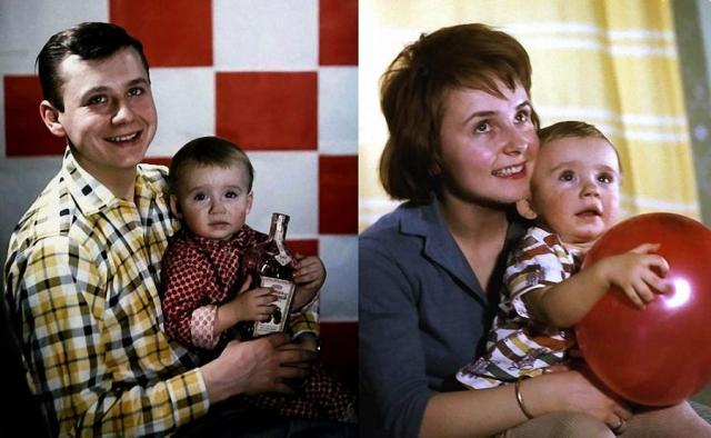 Первая семья Олега Табакова