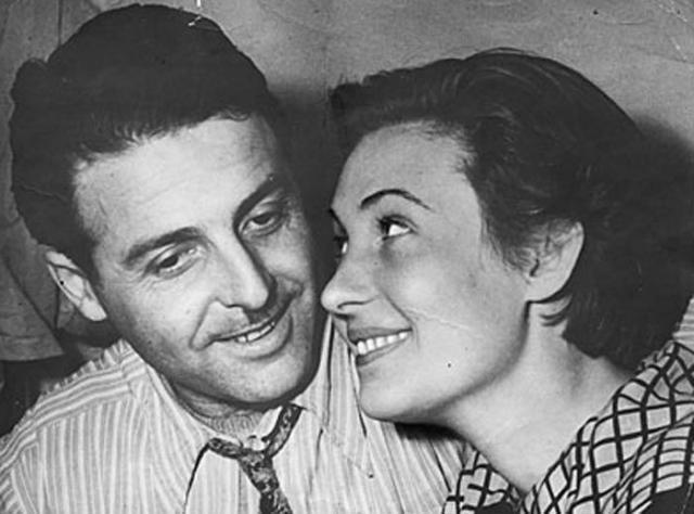 Михаил Танич с женой