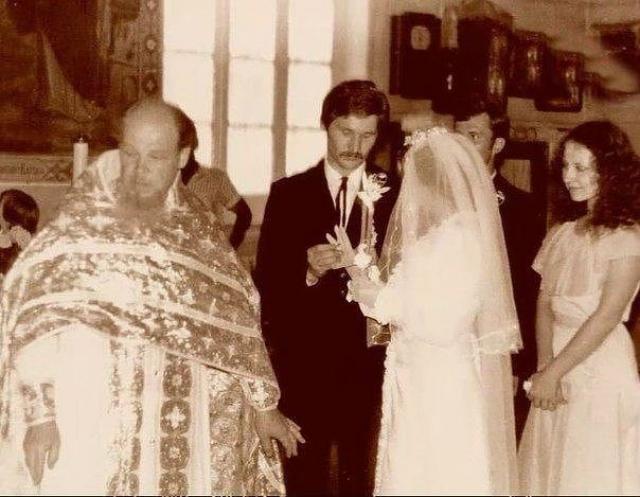 Венчание Добронравовых