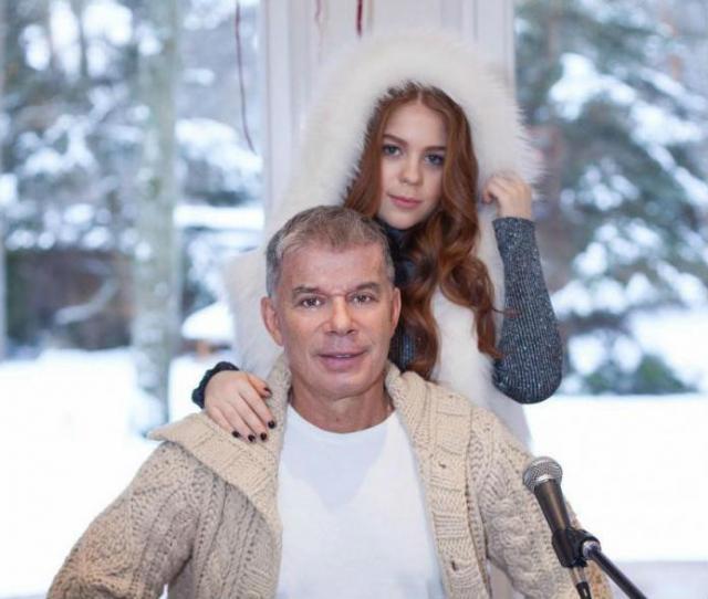 Газманов с дочкой Марианной