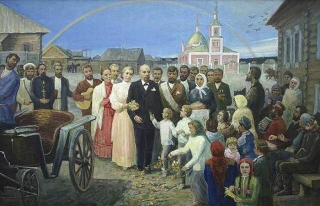 Свадьба Ленина и Крупской