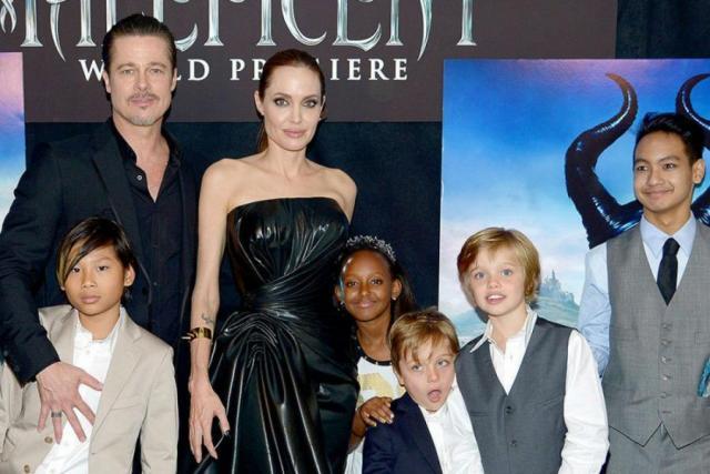 Семья Джоли и Питта