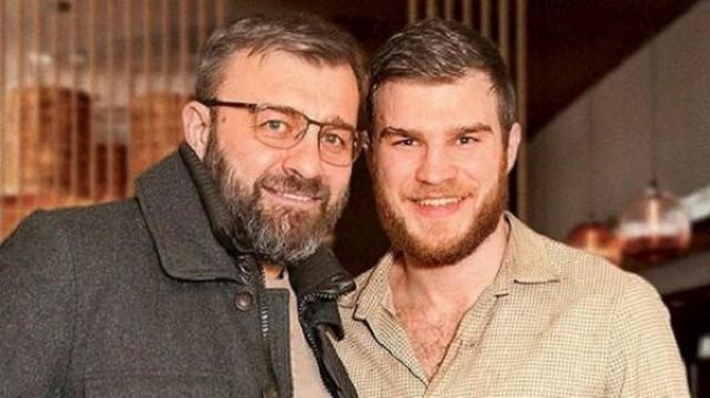 Михаил Пореченков с сыном Владимиром