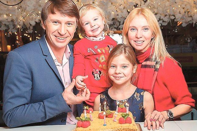 Семья Алексея Ягудина