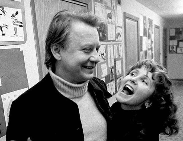 Олег Табаков и Людмила Крылова