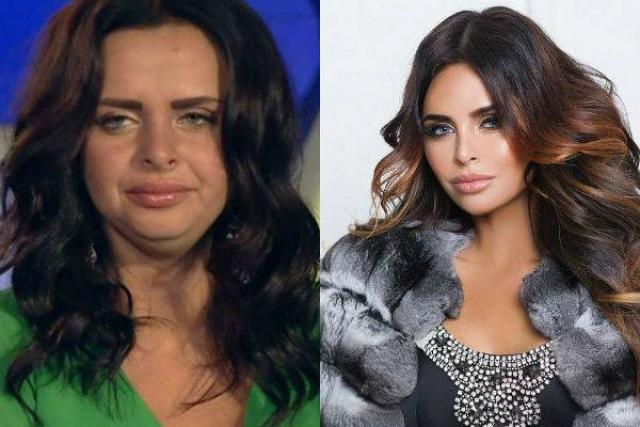 Виктория Романец до и после похудения