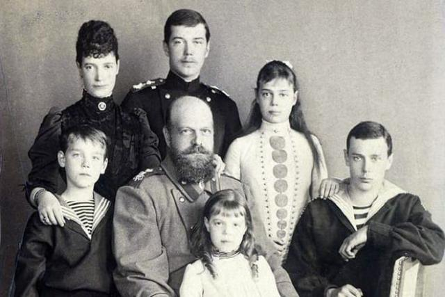 Семья Александра III и Марии Федоровны