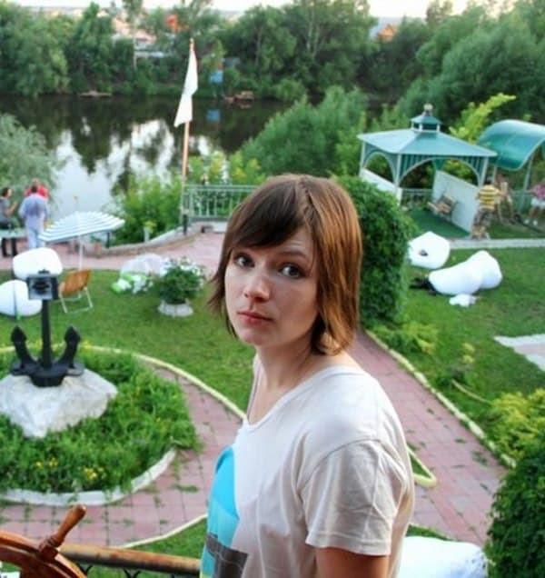 Жена Павла Деревянко