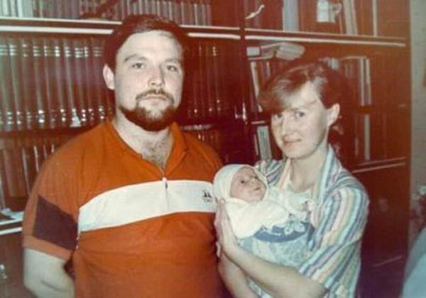 Первая жена Михаила Круга и его сын