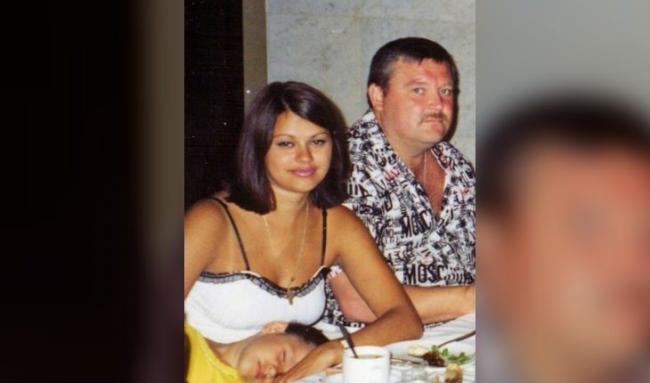 Ирина Круг и ее муж в молодости