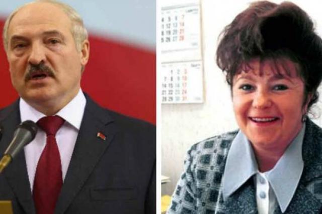 Жена Лукашенко Галина