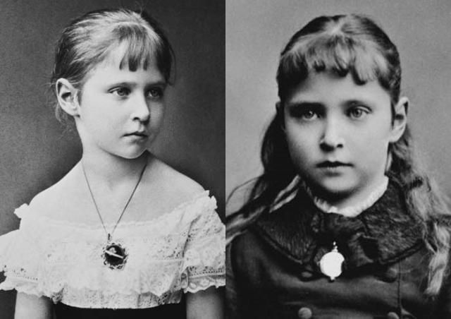Александра Федоровна в детстве