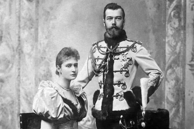 Николая 2 и Александра Федоровна