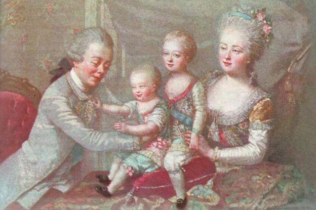 Дети Павла Первого и Марии Федоровны