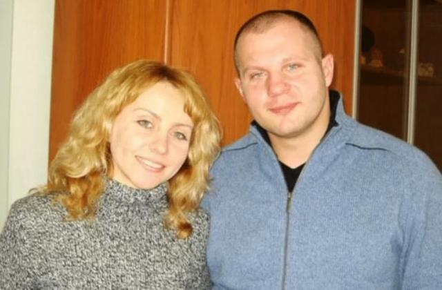 Федор и Оксана Емельяненко