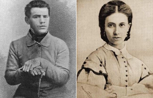 Лев Толстой и Софья