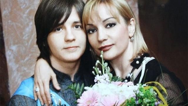 Татьяна Буланова с сыном