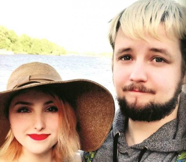 Александр Тагрин со своей девушкой