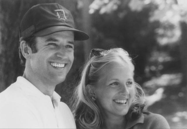 Джо и Джилл Байден в первые годы брака