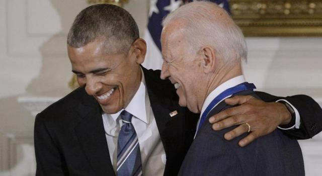Байден и Обама