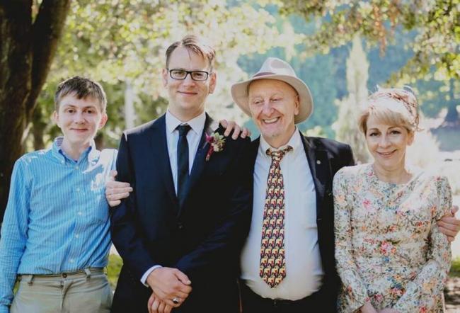 Елизавета Глинка и семья
