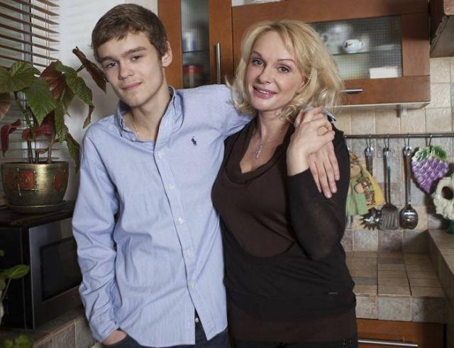 Ирина Цывина с сыном