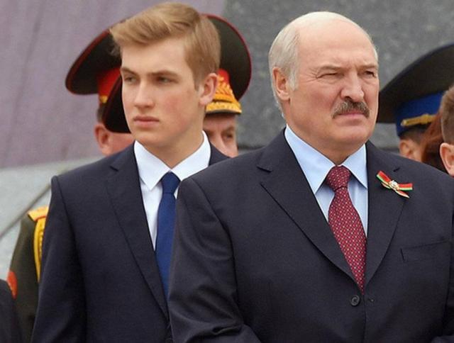 Лукашенко и Коленька