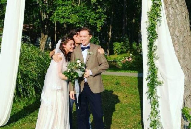 Свадьба Ольги Быковой