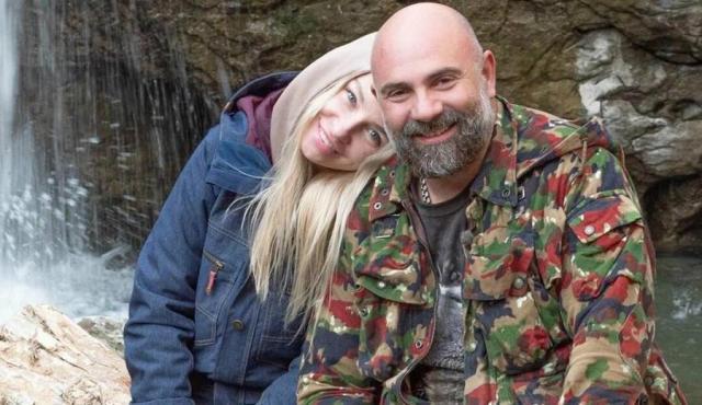 Тимофей Баженов с женой
