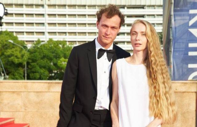 Юрий Борисов и его жена